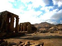 卢克索神庙 库存照片