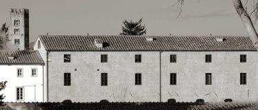 卢卡托斯卡纳意大利节略的特征 库存照片