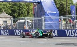 卢卡斯・迪・格拉西-巴黎ePrix 2017年 库存照片