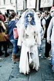 卢卡漫画鬼魂新娘和比赛的2014年 库存图片