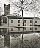 卢卡钟楼圣frediano 库存图片