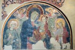 卢卡(托斯卡纳,意大利),圣Frediano 库存图片