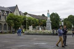 卢尔德,法国 免版税图库摄影
