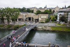 卢尔德,法国 免版税库存照片