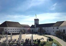 卢布尔雅那城堡 免版税图库摄影
