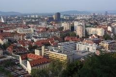 卢布尔雅那,斯洛文尼亚。 库存图片