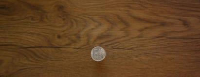 1卢布硬币 免版税库存照片