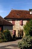 卢布雷萨克中世纪村庄, 库存图片