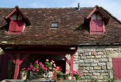 卢布雷萨克,法国 免版税库存照片