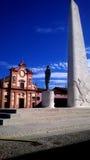 卢戈弗朗切斯科Baracca纪念碑 库存图片