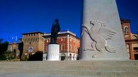 卢戈弗朗切斯科Baracca纪念碑 图库摄影