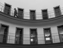 卢戈,西班牙- 2017年5月 免版税库存照片