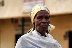 卢旺达妇女 免版税库存图片