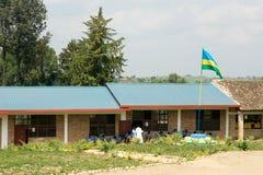 卢旺达学校 免版税库存图片