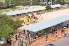 卢旺达学校 库存图片