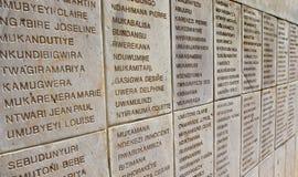 卢旺达的种族灭绝 免版税库存照片