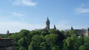 卢森堡一个小的国家在欧洲 库存图片