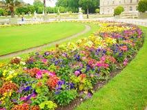 卢森堡公园(公园) 免版税库存图片