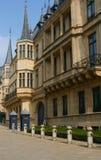 卢森堡公爵全部宫殿s 免版税库存图片