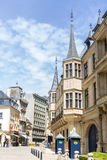 卢森堡大公宫殿 免版税库存照片