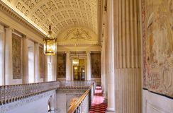卢森堡宫殿内部在巴黎 免版税图库摄影