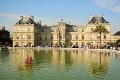 卢森堡宫殿在巴黎,法国 库存图片