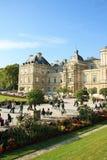 卢森堡宫殿在巴黎,法国 免版税图库摄影