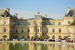 卢森堡宫殿在巴黎,法国 库存照片