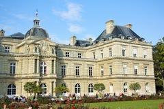 卢森堡宫殿在巴黎,法国 免版税库存图片