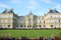 卢森堡宫殿在巴黎,法国 免版税库存照片
