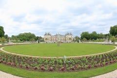 卢森堡宫殿庭院,巴黎 免版税库存图片