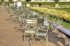 卢森堡宫殿的公园疆土  免版税图库摄影