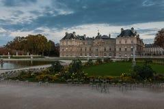 卢森堡宫殿,巴黎,法国 库存照片