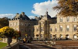 卢森堡宫殿,巴黎,法国 免版税图库摄影