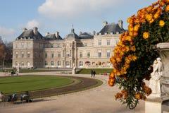 卢森堡宫殿 库存照片
