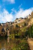 卢森堡小山 免版税库存照片