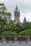 卢森堡市-卢森堡- 2016年7月01日:状态储蓄银行 免版税库存照片