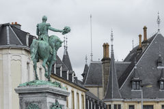 卢森堡市-卢森堡- 2016年7月01日:盛大Du雕象  免版税图库摄影