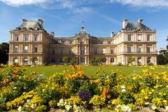卢森堡庭院 免版税图库摄影