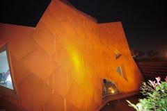 卢森堡的中国2010年上海世博会国家博物馆 库存图片