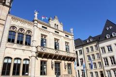 卢森堡的结构 免版税库存照片