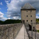 卢森堡老市城堡 免版税库存照片