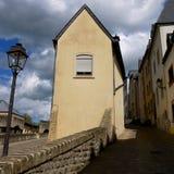 卢森堡老镇照片 免版税库存照片
