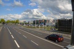 卢森堡街道 免版税库存图片