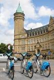 卢森堡银行 库存照片