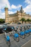 卢森堡银行 免版税库存图片