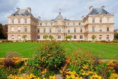 卢森堡从事园艺,巴黎 免版税库存图片