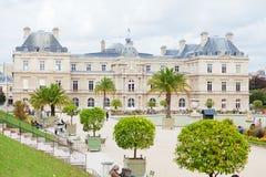 卢森堡从事园艺,巴黎 免版税图库摄影