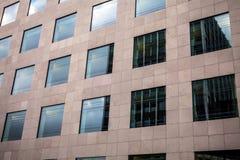 卢森堡- 2015年10月30日:欧洲大厦现代建筑学在卢森堡 图库摄影