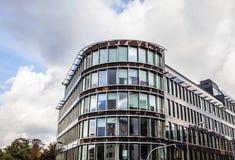 卢森堡- 2015年10月30日:欧洲大厦现代建筑学在卢森堡 库存照片